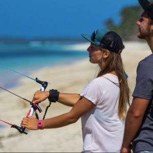 Trainer Kite Lesson - Earth Kitesurfing